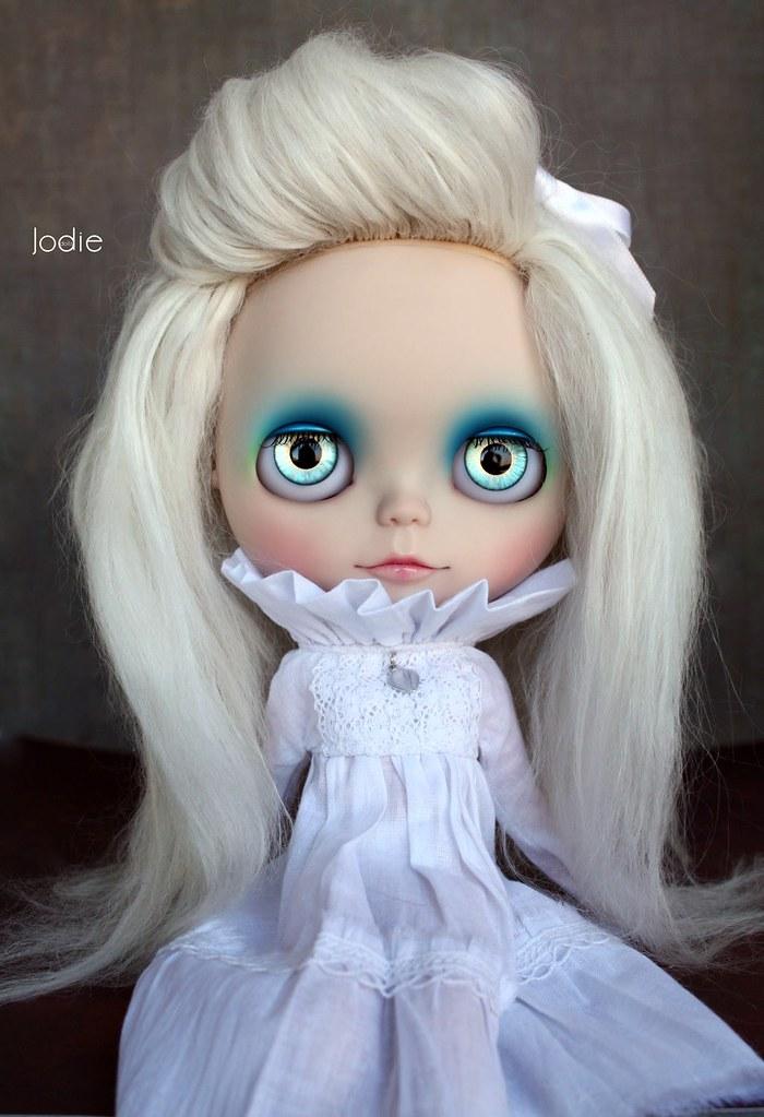 Blue custom OOAK Blythe doll by Jodie♥dolls | eBay