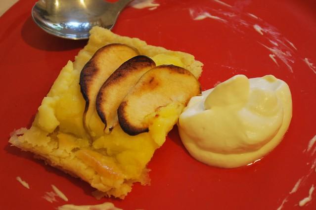Banda de hojaldre y manzanas (1)