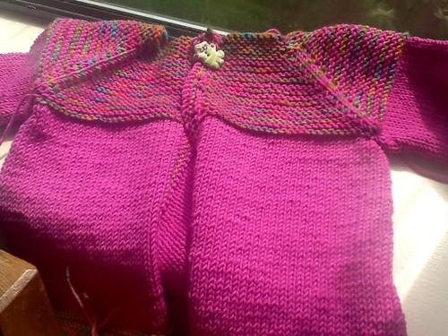 Pink cardigan1c