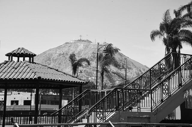 Vista desde la Casa de la Literatura Peruana