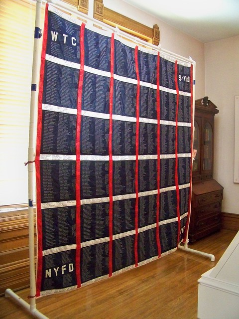 Quilt in honor of all of those who lost their lives in the Sept. 11, 2001 attacks.