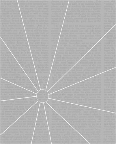 example WHITE  A2 sunburst overlay mel stampz