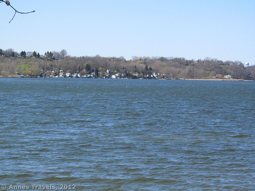 Irondequoit Bay from the Green Trail, Abraham Lincoln Park, Webster, New York