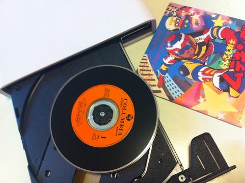 8cm CD挿入