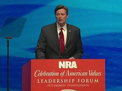 U.S. Rep. Jason Altmire at 2011 NRA Convention