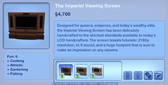 The Imperial Viewing Screen