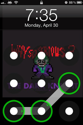 Joker Android Lock for iPhone