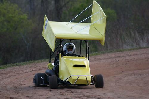 4.27.12 Hi Go Raceway - Sprint Kart Dirt Tracking it