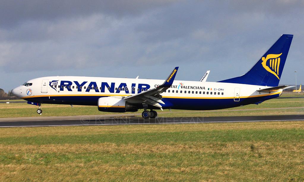 EI-EMH - B738 - Ryanair