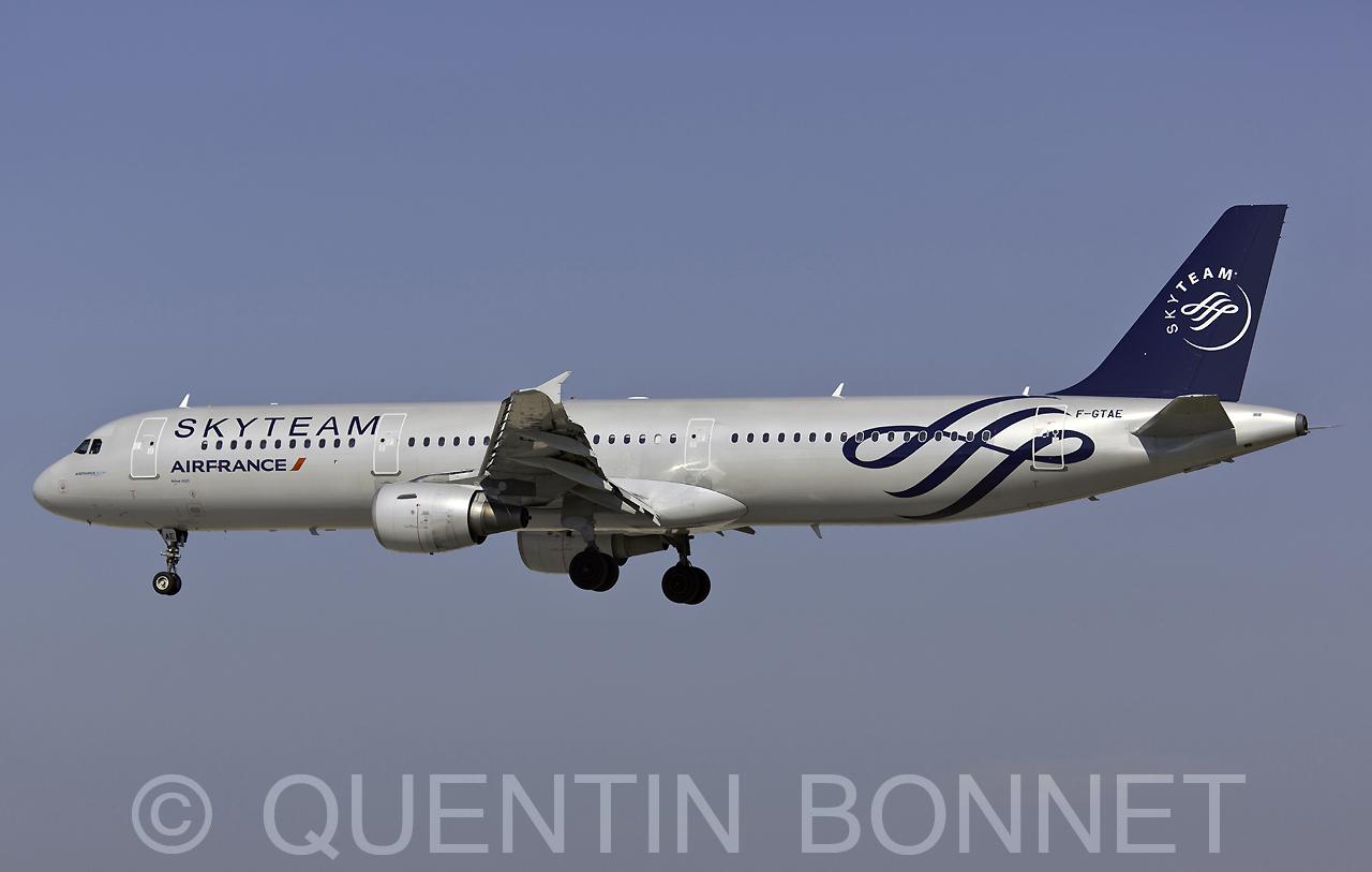 Air France Airbus A321-212 F-GTAE