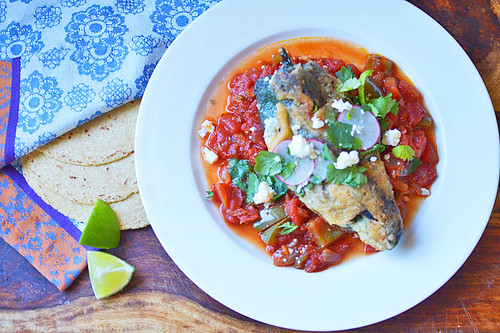 Chile Relleno with Ranchero Sauce via LittleFerraroKitchen.com