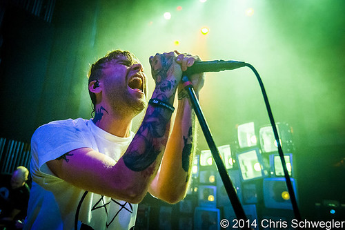 The Used – 04-06-14 – The Fillmore, Detroit, MI