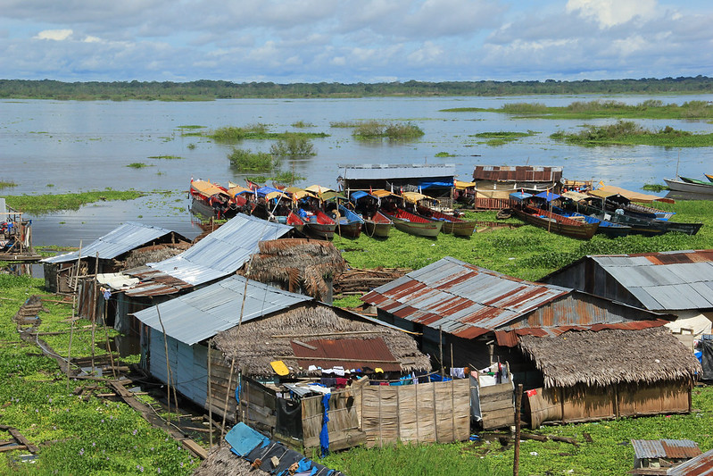 Floating shantytown of Belén