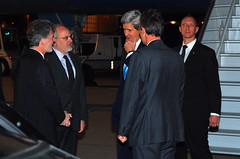 Secretary Kerry Arrives in Geneva For Ukraine Meeting