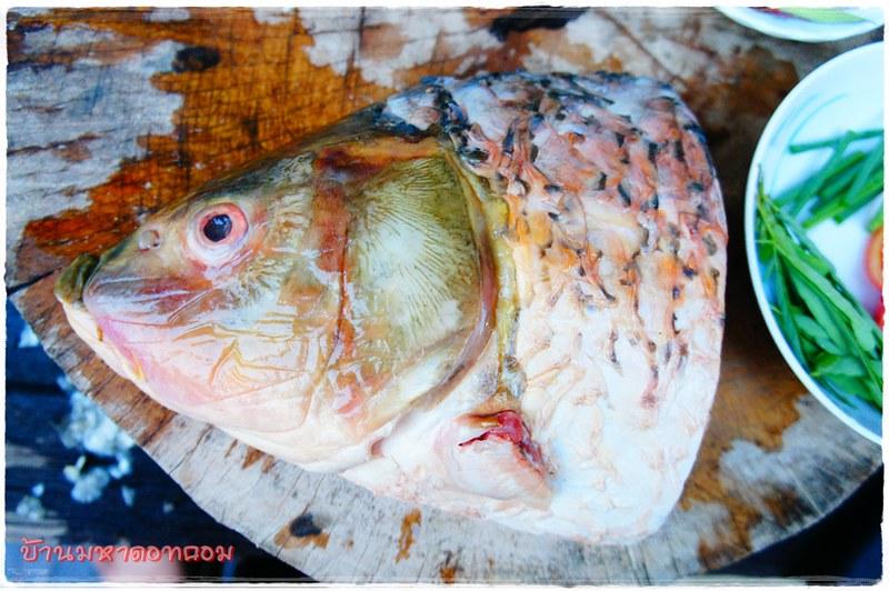 ต้มส้มหัวปลาไน  -By ครัวอินดี้-