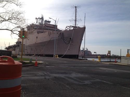 Naval yard crit