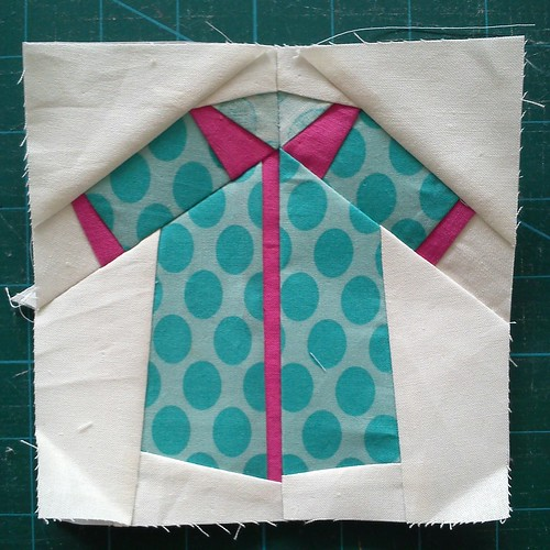 Paper pieced shirt