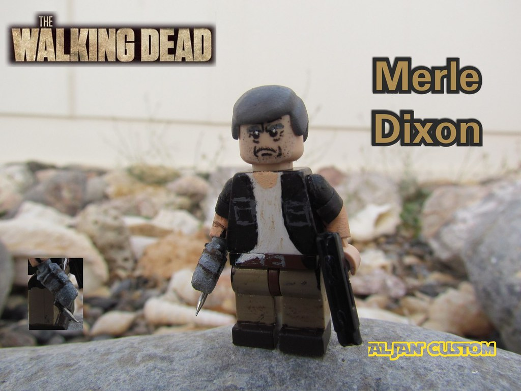 Walking dead lego daryl the walking - Custom Lego The Walking Dead Merle Dixon
