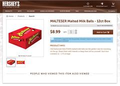 Hershey Webstore - Malteser