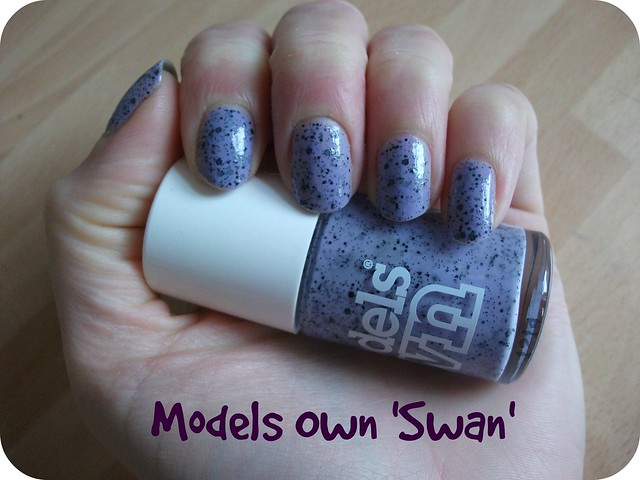 NOTD Models Own Swan Speckled Eggs