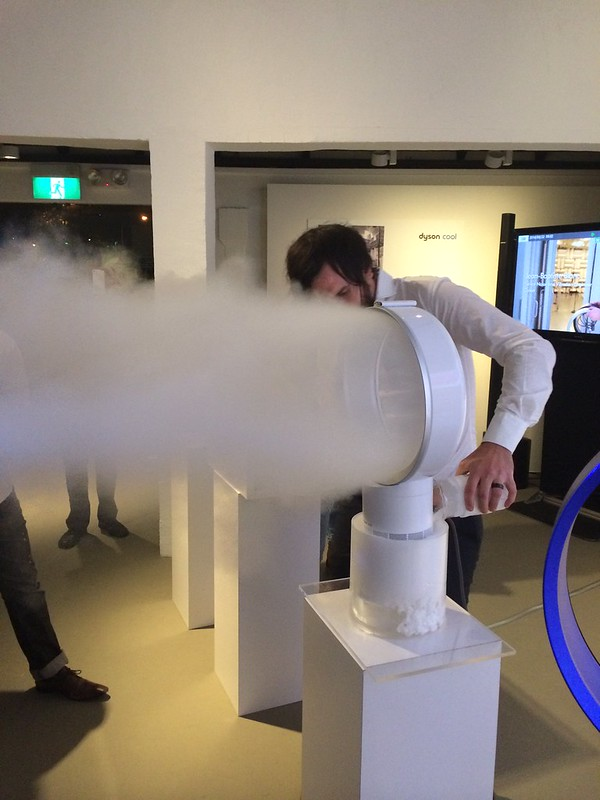 Dyson Cool Fan - Demo With Dry Ice