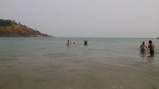 Image of Om Beach near Gokarna.