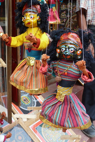 Nepal - Kathmandu - Puppet On A String - 16