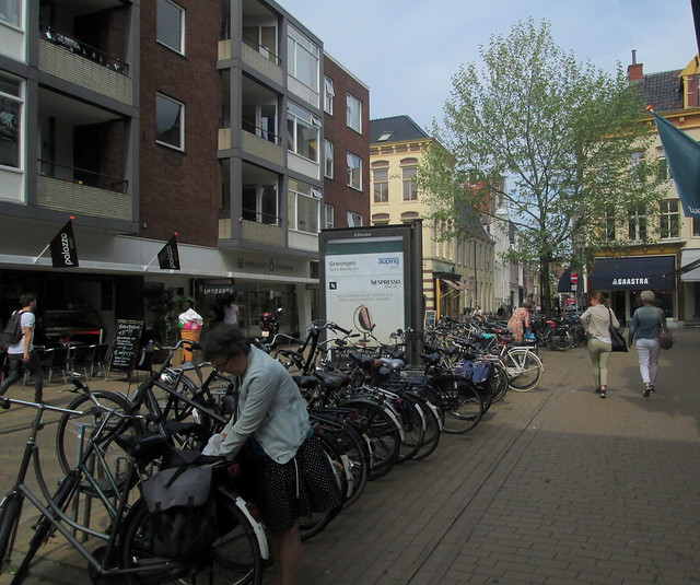 Bikes in Groningen