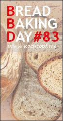 BBD # 83 - Brot mit Spezialmehl / Bread with Special Flour (Einsendeschluss 1. Juni, 2016)