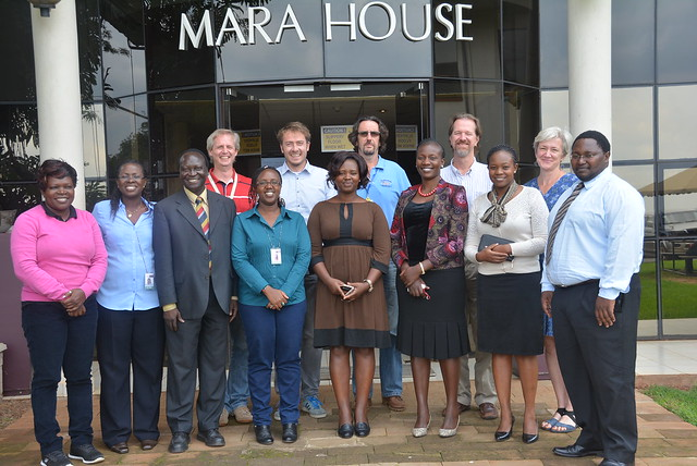 Uganda and Kenya policy maker visit to ILRI