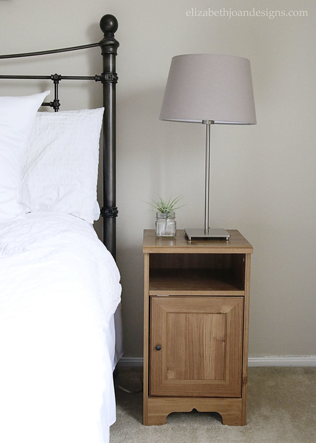 Ikea Nightstand and Light