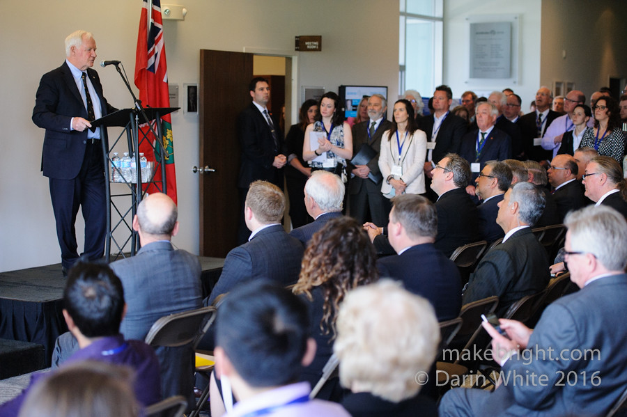 Governor General David Johnston at the AC - May 2016 361