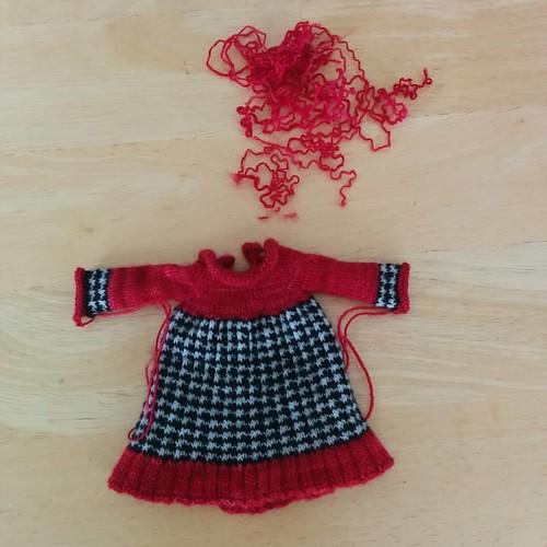 Re-knit cuffs