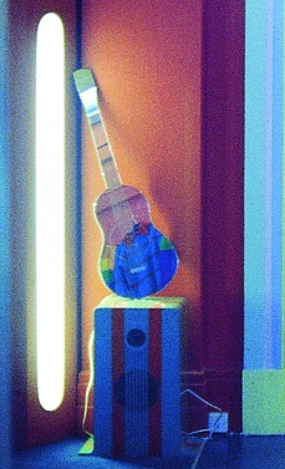 Guitar-shaped mirror Mr Freedom 1971