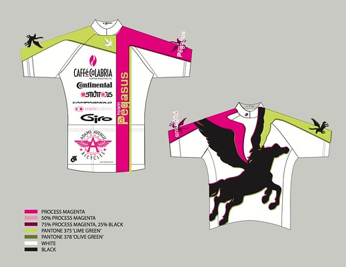 Team Pegasus West Coast Kit 2012