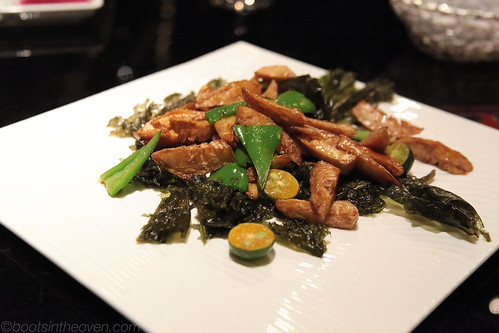 """Braised Winter Bamboo Shoots"""