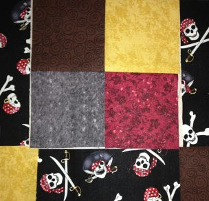 Pirate four patch