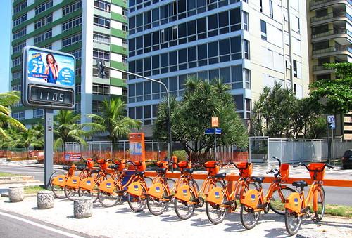 Bicicletas en Ipanema