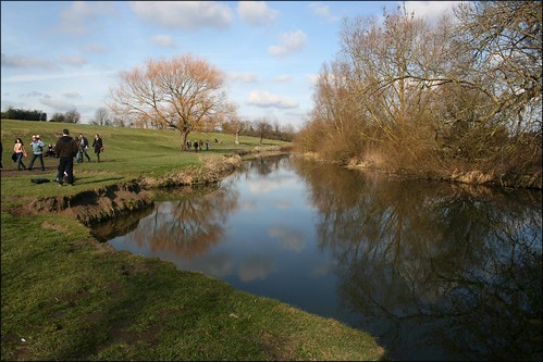 The River Cam between Grantchester and Cambridge