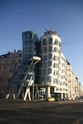 dancinghaus dancing house prague