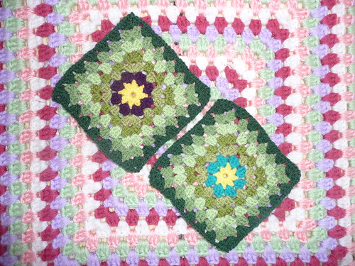 Sarah (RAV) Your Squares arrived today with the beautiful Blanket! Thank you very much!