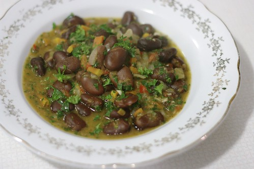 Kale and Black Eyed Pea Stew