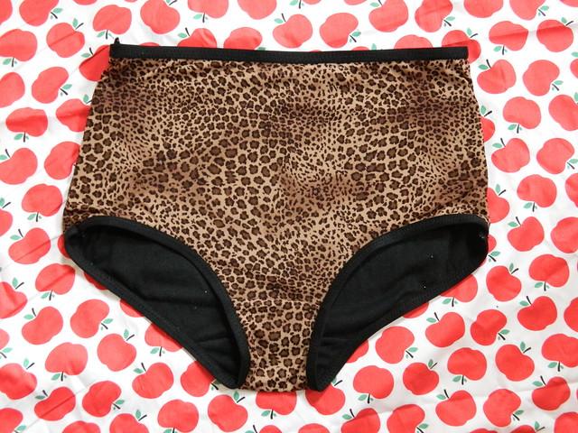 Leopard underpants
