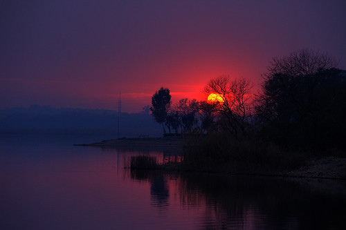 Rawal Lake Sunset on 17-02-2012(3)