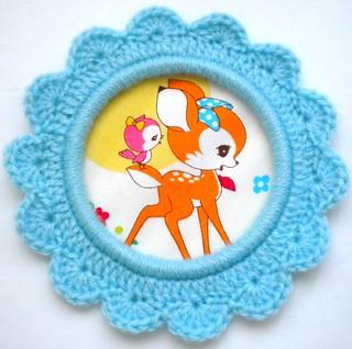 Crocheted bambi