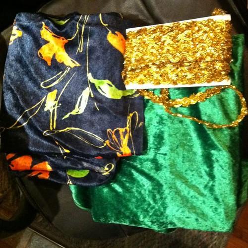 Puppet theatre fabrics