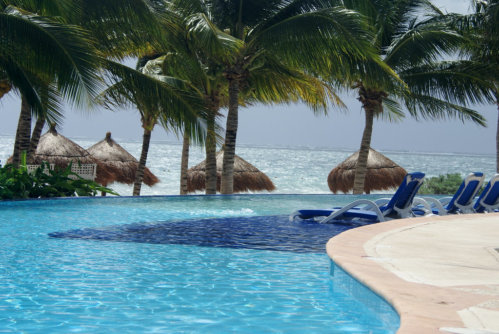 Poolside at Ceiba del Mar Resort