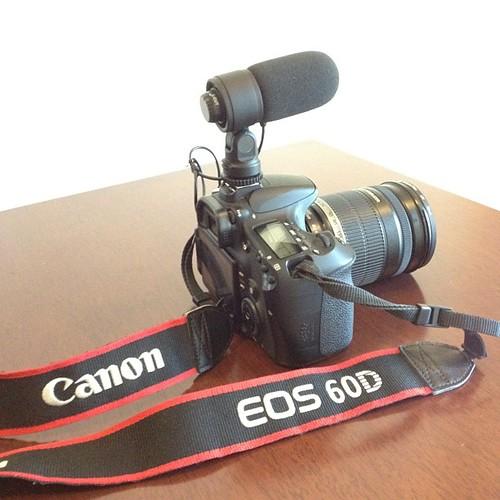 My camera - Canon EOS 60D dah ada kepala