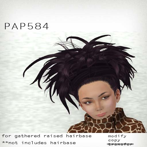 booN PAP584 hair