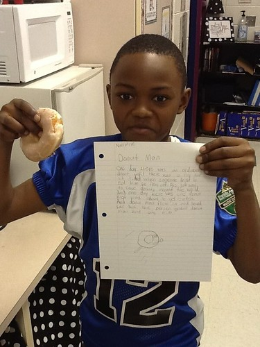Amerrit and his donut